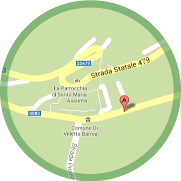 Map of Villetta Barrea - Europa Casa Vacanze